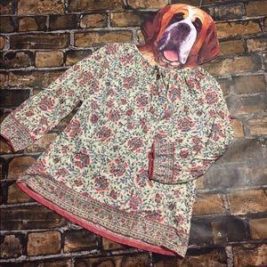 Ralph Lauren Tunic Boho Top Size Medium